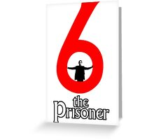 Number 6 - The Prisoner Greeting Card