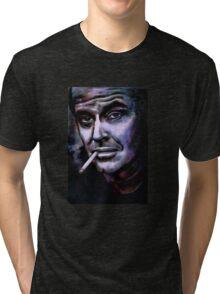 Jack Nicholson Tri-blend T-Shirt