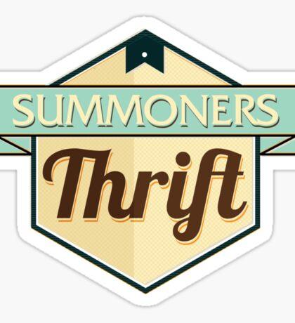 Summoners Thrift Sticker