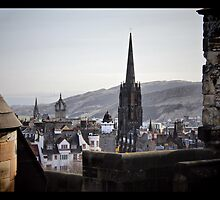 Edinburgh roof tops ..... by SNAPPYDAVE