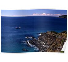 Sea View, Forster, New South Wales, Australia 2000 Poster