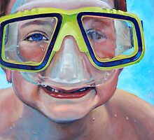 Junior Diver by Eva C. Crawford