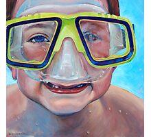 Junior Diver Photographic Print