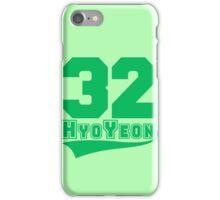 HyoYeon - 32 iPhone Case/Skin