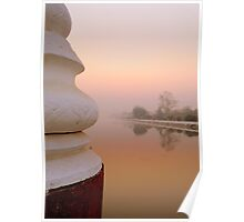 Mandalay at Dawn Poster