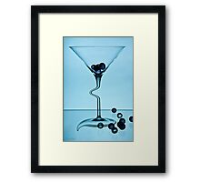 Cocktails with Dali - Print Framed Print