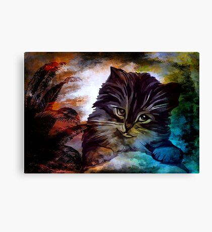 Hello, my name is Goliath. Canvas Print