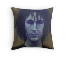 Syd Barrett - Purple Throw Pillow