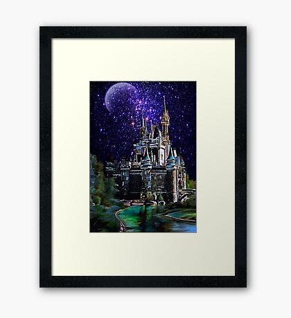 The Magic castle II Framed Print