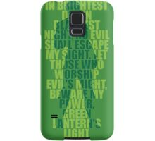 Superhero Wordart Samsung Galaxy Case/Skin