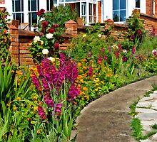 A Pathway Of Flowers by Susie Peek