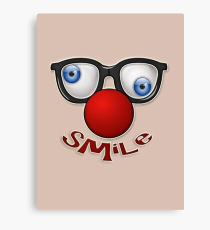 smile! Canvas Print