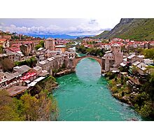 Mostar. View from the top of the Minaret. Photographic Print