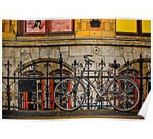 Bicycle in Amsterdam Poster