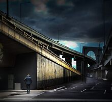 The concrete city by Adrian Donoghue