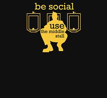 Use the middle stall Unisex T-Shirt