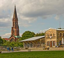 The old train station by Cvail73