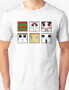Horror Serial Killers Minimalism T-Shirt