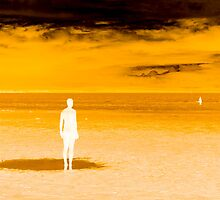 Crosby Beach - Anthony Gormley Statues by Cvail73