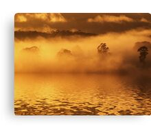 """Golden Waters"" Canvas Print"