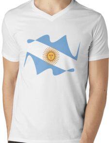 Argentina  Mens V-Neck T-Shirt