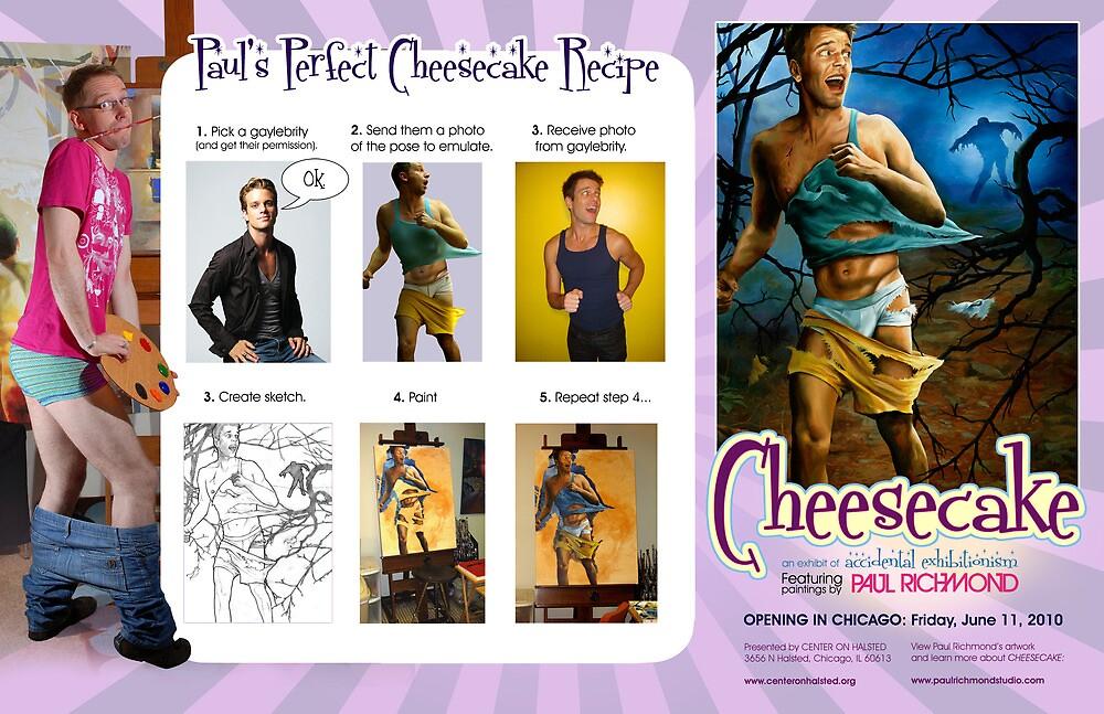 CHEESECAKE Pin-Up Recipe  by Paul Richmond