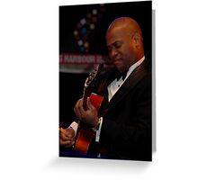 Ron Carter Trio - Russell Malone, Sydney 2011 Greeting Card