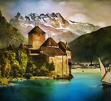 Chillon Castle by andy551