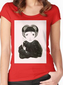 Елена Women's Fitted Scoop T-Shirt