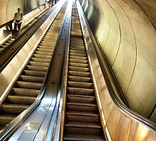Up the Metro Escalator by lgusem
