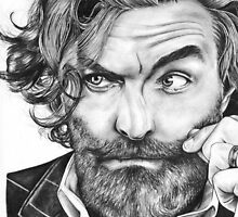 Tim Omundson by bonejangless
