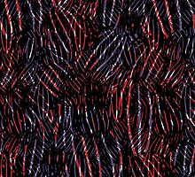 abstract botanical by kasiunia