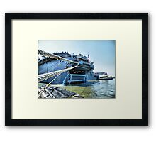 The LHD7 Framed Print
