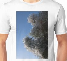Ice Flowers in the Sky Unisex T-Shirt