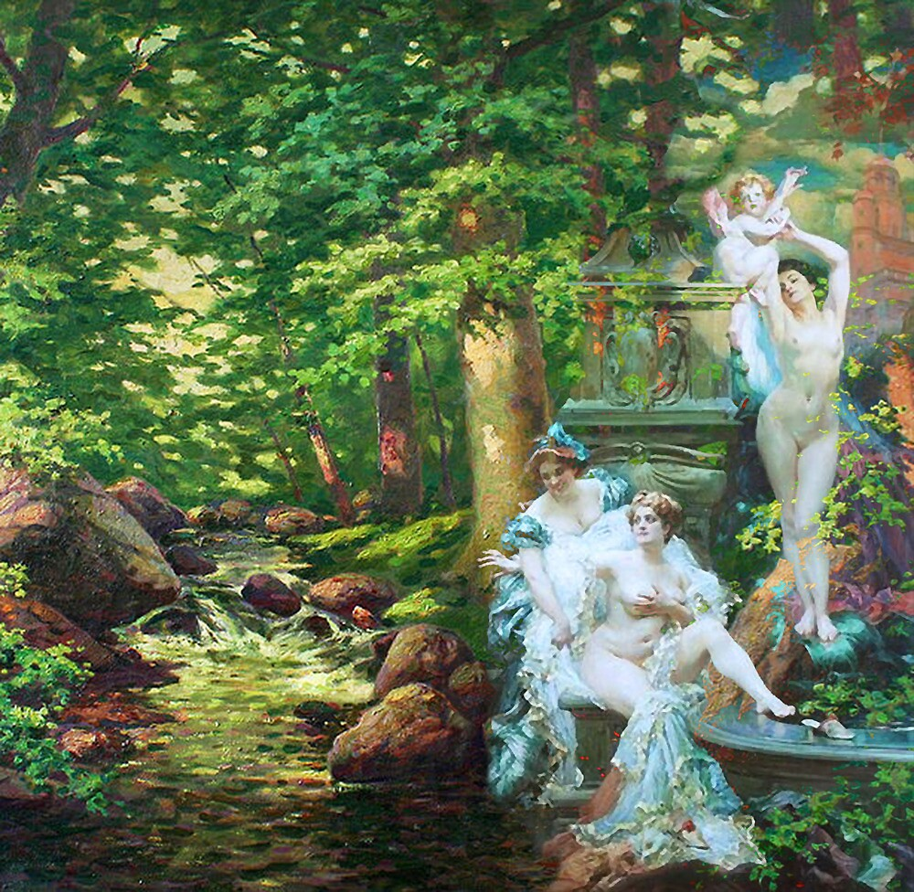 THE BATHERS by Tammera