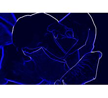 Midnight Rose - Special Effects Photographic Print