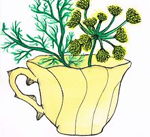 Fennel by Rose Blossom Art