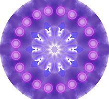 Blue, Purple Sky  Kaleidoscope by fantasytripp
