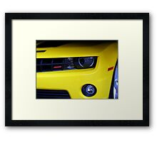 Yellow Camero Framed Print