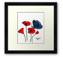 Quietly.... Framed Print