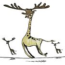 giraffemoosemen by Paul McClintock