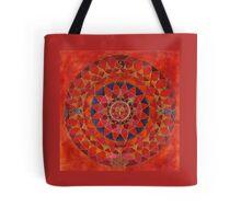 Widder Horoskop Mandala Produkte Tote Bag