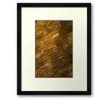 Sparkling Precious Gold, Gems, Jewels and Crystals Framed Print