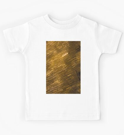 Sparkling Precious Gold, Gems, Jewels and Crystals Kids Tee