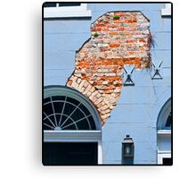 French Quarter Facade Canvas Print