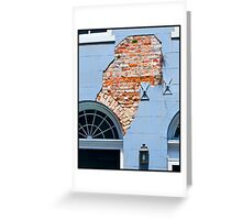 French Quarter Facade Greeting Card