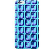 Patterned Blue Bloc iPhone Case/Skin