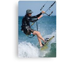 Kite Surfer Canvas Print
