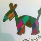 dog fun pattern  by briony heath