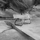 The seat, Cronulla NSW AUSTRALIA by Ian Ramsay